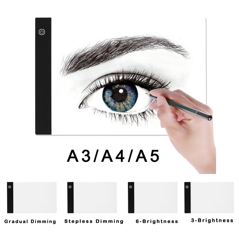 Digital Tablet A3 A4 A5 GraphicTablet for Drawing Sign Display Panel Luminous Stencil Graphic Artist Thin