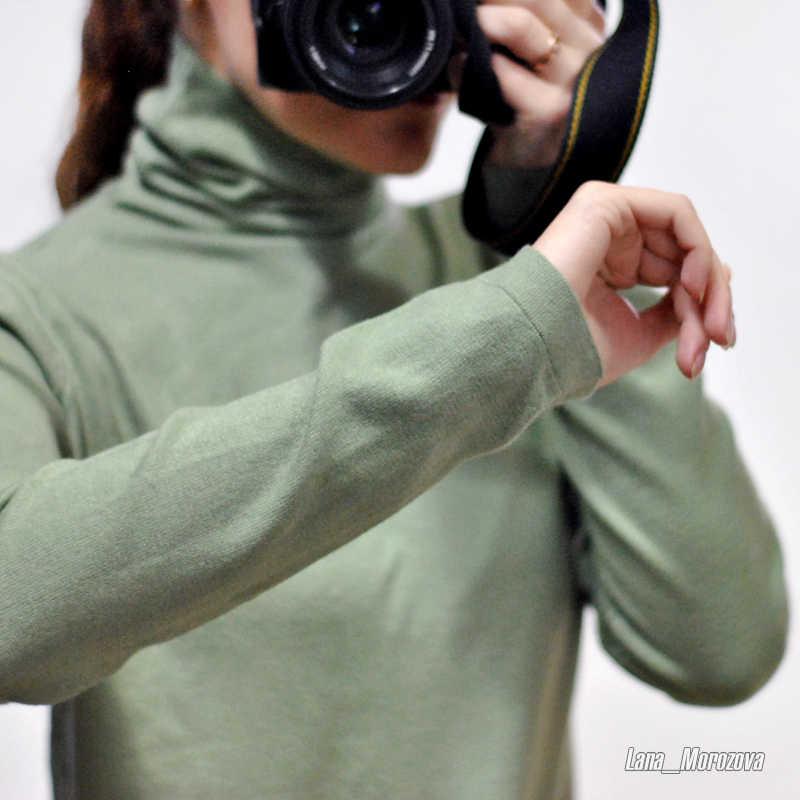 GIGOGOU/вязаный джемпер на плоской подошве; сезон осень-зима; Женский пуловер с ворсовым воротником; свитеры с высоким воротником и длинными рукавами; элегантные женские свитера