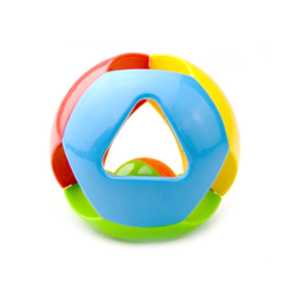 Baby Rattle Ball Toy Hand Catch Grasp Shaking Shaker Bell Sensory Developmental Toy Bath Ball For Toddler Infants