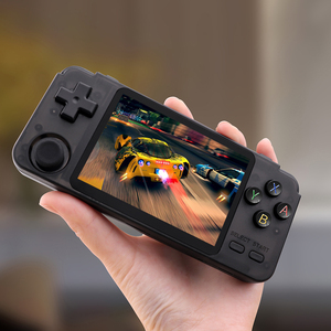 RK2020 Retro Console 3.5inch IPS screen portable handheld game console PS1 N64 games video game player 3D games 32G TF Card