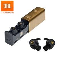 JBL UA Project Rock True cuffie Bluetooth senza fili cuffie Stereo originali In-Ear IPX7 con microfono auricolari Sport auricolari