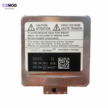 CZMOD oryginalny 9285 304 244 S D3S 35W HID Xenon reflektor blub 9285304244S 9285335244 akcesoria samochodowe A4-A8 W niemczech (używane)