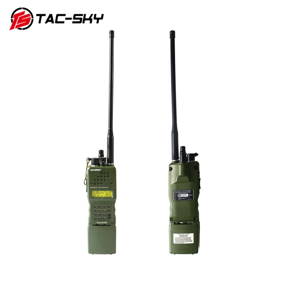 TAC-SKY AN / PRC 152 152A Military Radio Walkie-talkie Model Virtual Broadcast Box, Harris Military Virtual Chassis PRC 152 152a