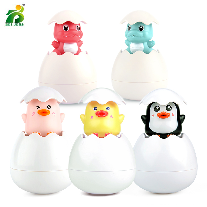 1PCS Baby Bath Duck Animal Baths Toy Bathroom Toddler Plastic Squeeze Water Spray Swimming Water Sprinkler Toy For Kids Gift