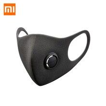Orijinal Xiaomi Smartmi maskesi filtresi Anti pus yüz maskesi ile havalandırma vana 3D yapı rahat PM 2.5 malzeme maskeleri