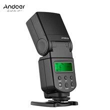 Flash universal speedlite ajustável led luz da câmera flash com suporte de substituição para canon nikon olympus pentax câmeras dslr