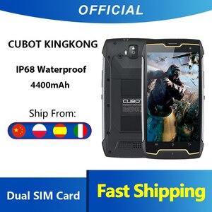 Cubot KingKong IP68 водонепроницаемый прочный смартфон 4400 мАч с большой батареей 3G с двумя sim-картами Android 7,0 2 Гб ОЗУ 16 Гб ПЗУ Компас + gps MT6580,Cubot King Kong,Сп...