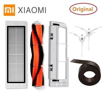 Original Main Brush HEPA Filter Side Brush Wall Cleaner Tool for Xiaomi MIJIA roborock Vacuum Parts цена 2017