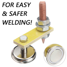 Magnetic Welding Support Ground Clamp Welding Magnetic Head