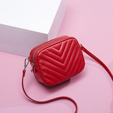 Lingge fashion leather Crossbody Shoulder Bags For Women Fas