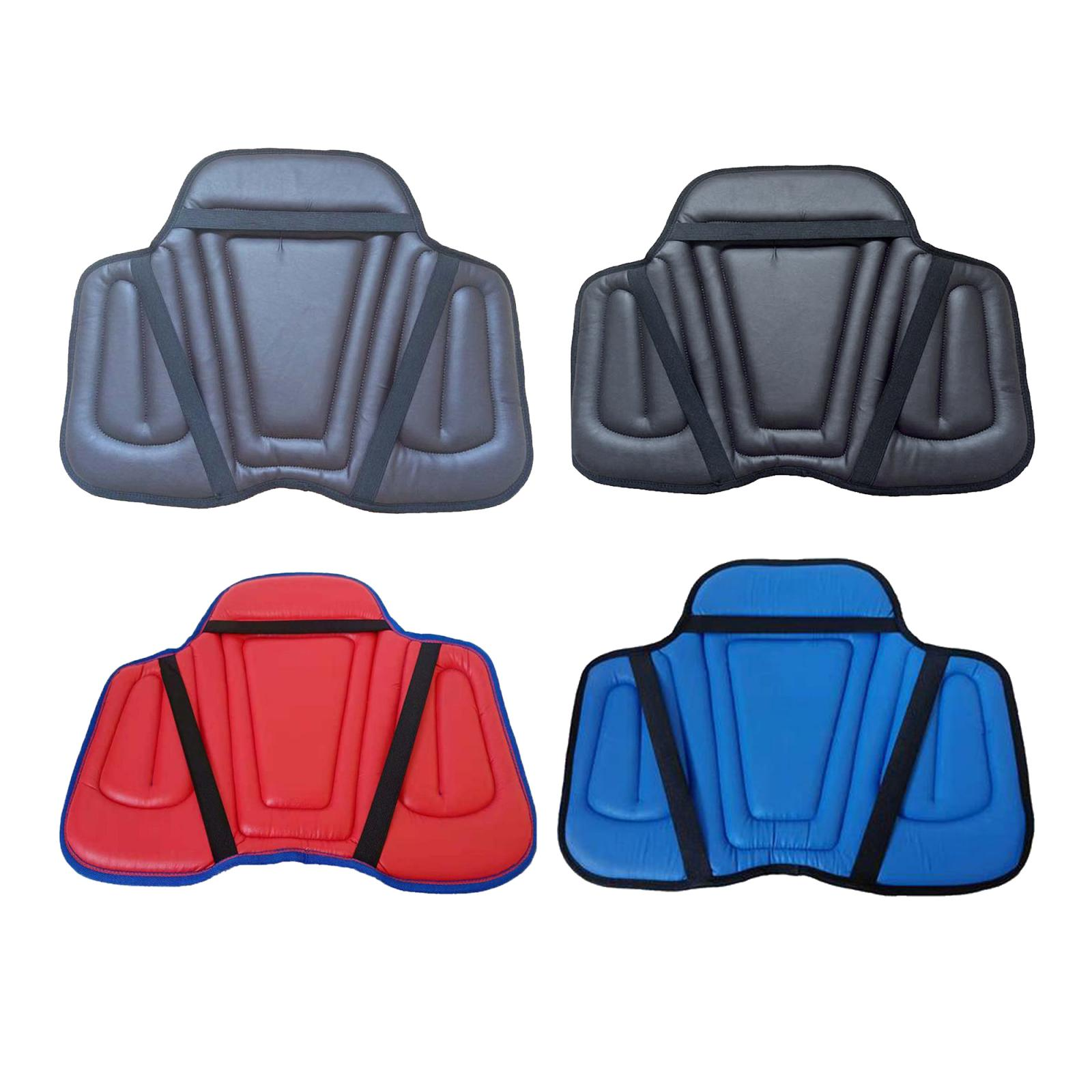 Leather Horse Riding Seat Shock Absorbing Memory Foam Saddle Cushion for Outdoor Equestrian Riding Horse Equipment Accessories