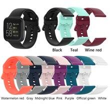 רצועת עבור Fitbit Versa 2 / Versa / Versa לייט/Blaze רצועת שעון להקת צמיד סיליקון רצועת השעון עבור Fitbit versa2 רצועות