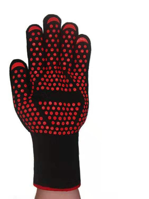 Silicone Multi-Purpose Mitts Baking BBQ Grill Glove Extreme Heat Resistant Oven Sleeves Kitchen Barbecue Grilling Tools