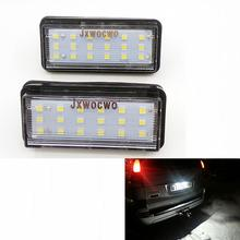 jxwocwo 2PCS Error Free LED Number License Plate Light for Lexus LX470 LX570 GX4