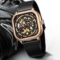 Megalith relógio de negócios homem automático relógio luminoso 2019 à prova dwaterproof água relógios mecânicos masculino marca superior relogio masculino 8202|Relógios mecânicos| |  -