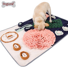 Large Size Dog Snuffle Mats Dinner Table Design Slow Eatting Mat for Pets Anxiety Released Feeding Pads