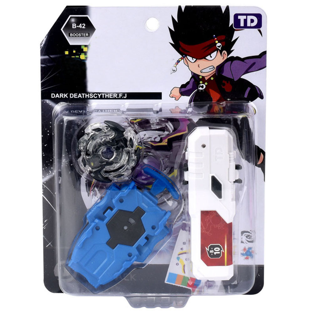 Gyro Beyblades With Launcher Metal Fusion Toys For Children Bey Blade Burst With LED Handlebar Gyro In Box