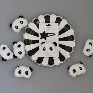 Plush Panda Cute Cartoon Hair