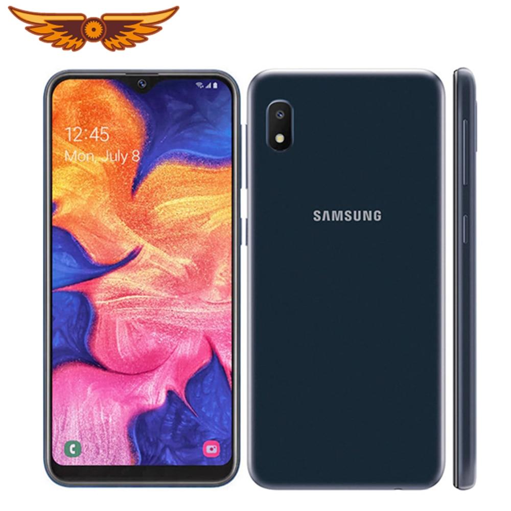 Original samsung galaxy a10e octa-core 5.83 polegadas único sim 2gb ram 32gb rom 8mp câmera android smartphone desbloqueado celular