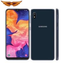 Original Samsung Galaxy A10e Octa-core 5,83 Zoll Einzigen SIM 2GB RAM 32GB ROM 8MP Kamera Android smartphone Entsperrt Handy