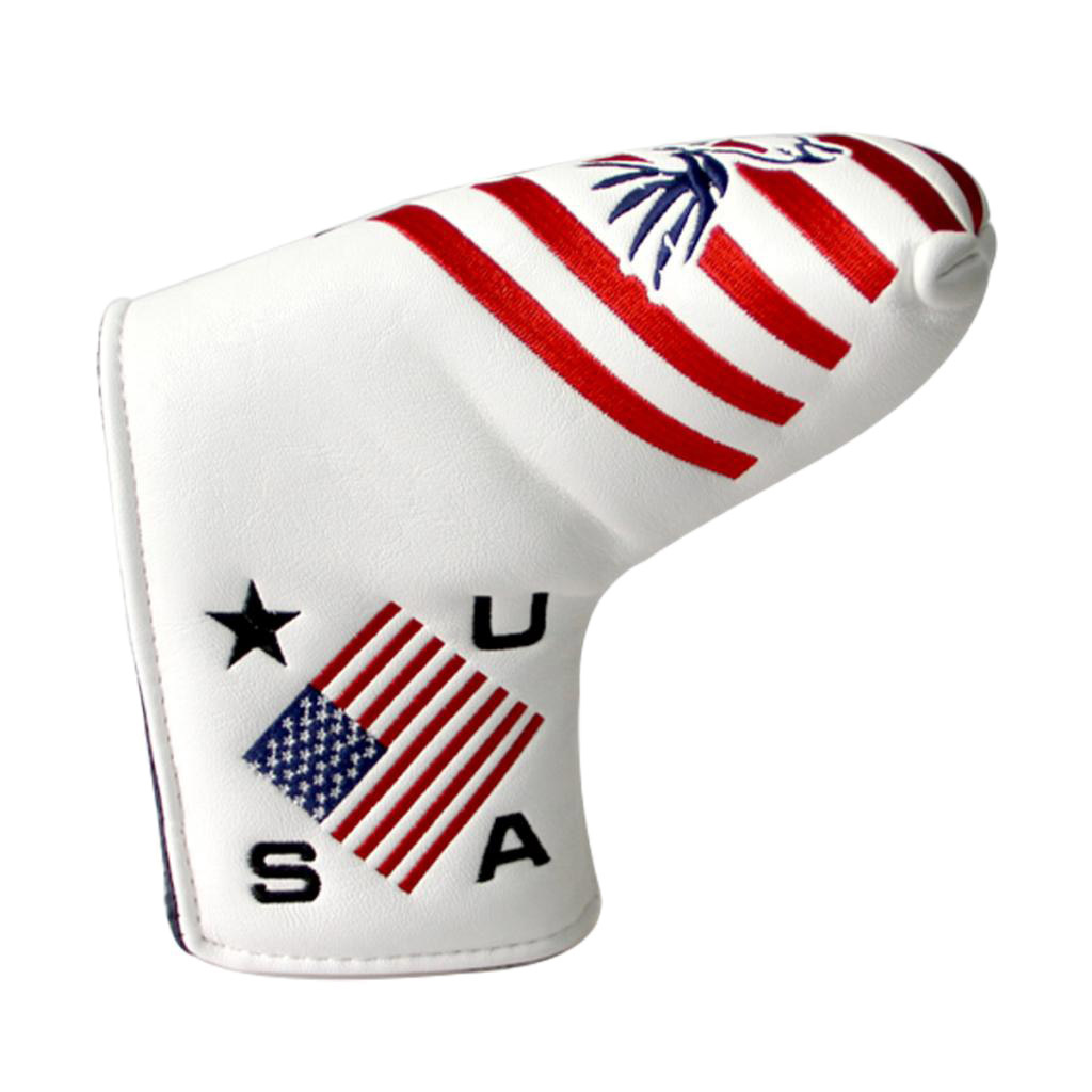 PU Waterproof Lightweight Golf Putter Cover Headcover For Blade Golf Club Protector Sleeve Bag Golf Accessories
