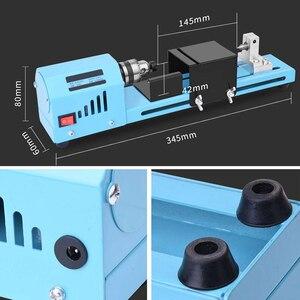 Продвижение -- 150 Вт Электрический Деревянный Мини токарный станок для шлифования бусин полировщик и полировка бусин машина DIY Деревообработка Будды жемчуга