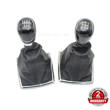 For Ford Focus MK2 2005 2006 2007 2008 2009 2010 2011 Car-styling 5 Speed 6 Speed Gear Stick Shift Knob PU Leather Gaiter коммутатор no brand 7e0959855 5 6 2005 2006 2007 2008 2009 2010 2011