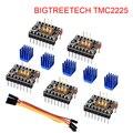BIGTREETECH TMC2225 V1.0 UART шаговый двигатель драйвер Stepsticks VS TMC2209 TMC2208 TMC2130 для SKR V1.3 mini E3 части 3d принтера