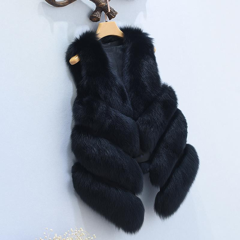 Women's Fox Fur Waistcoat 2