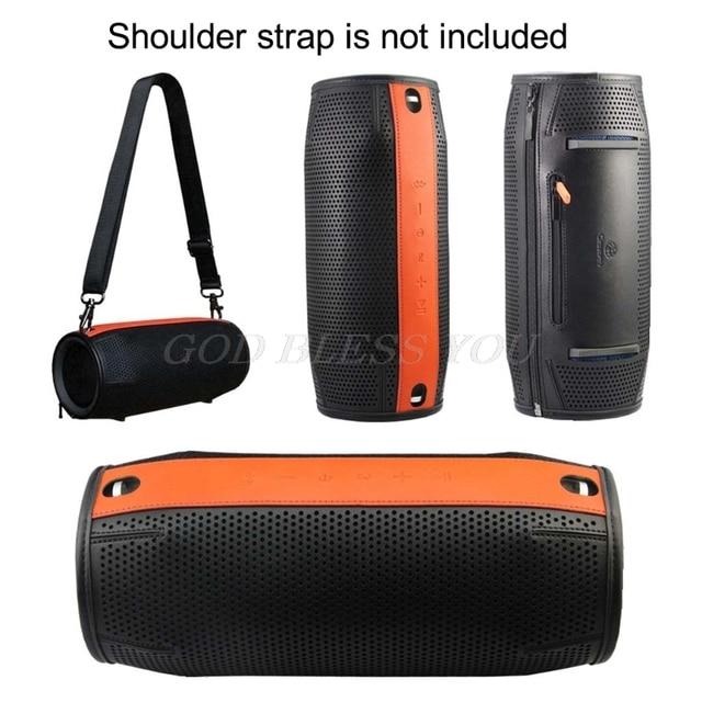 Caixa de proteção portátil para caixa de som jbl xtreme, capa macia de pu para alto falante bluetooth, drop shipping