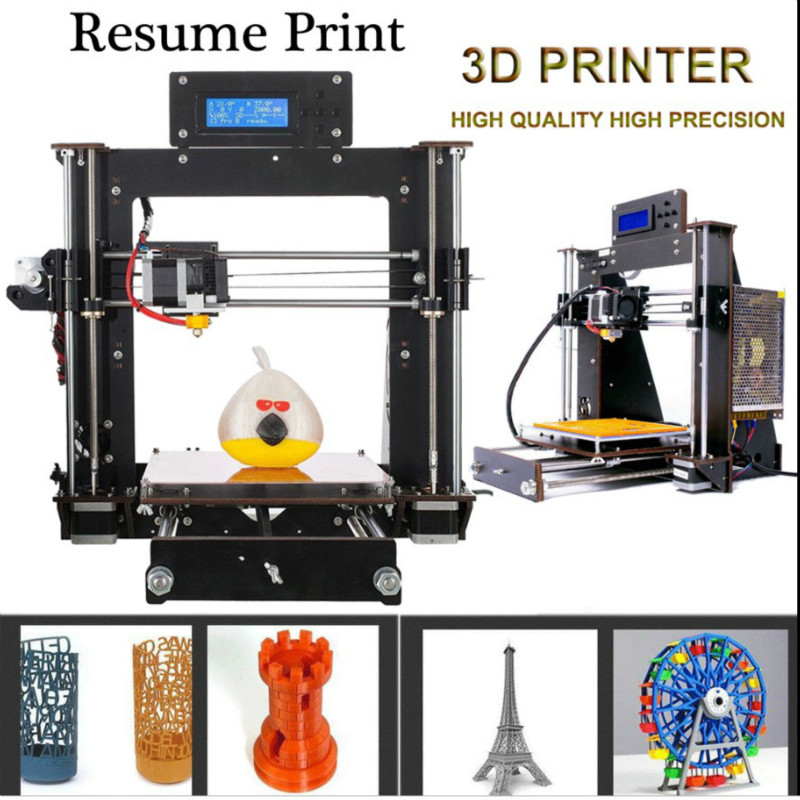 Tronxy X1 3D Printer DIY Upgradest High Precision Reprap Prusa 3d Printing USA B