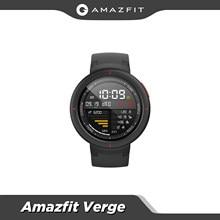 Original Globale Amazfit Rande Sport Smartwatch GPS GLONASS Interne Lagerung Call Antwort Smart Nachricht Push Herz Rate Monitor