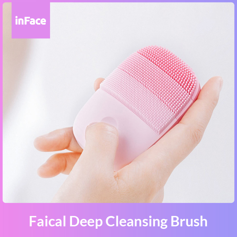Xiaomi Chain InFace Smart Sonic Clean Electric Deep Facial Cleaning Massage Brush Wash Face Care Cleaner Rechargeable