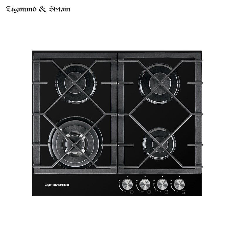 Bulit-in Gas Hobs Zigmund & Shtain MN 175.61 B Home Appliances Major Appliances Bulit-in Hobs Cooking Unit Panel Surface