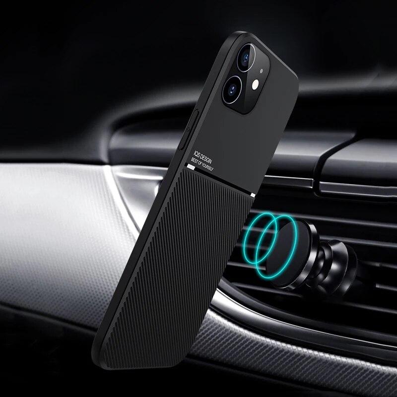 Кожаный чехол для телефона iPhone 11 12 Pro XS Max Mini 8 7 6S 6 Plus XR X XS, магнитный противоударный чехол, чехол для iPhone SE 2020