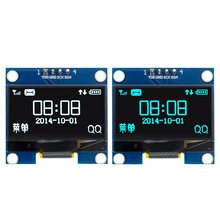 "100PCS/LOT 1.3 OLED module White/Blue Color 128X64 1.3 inch OLED LCD LED Display Module For 1.3"" IIC I2C Communicate For Arduino"