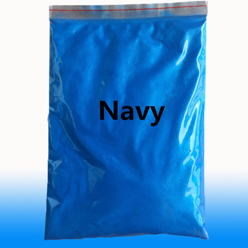 Pearl Pigment Powder Mineral Mica Dust Dye Acrylic Paint Coating For Automotive Art Crafts Ceramic Leather Coloring 50g Navy