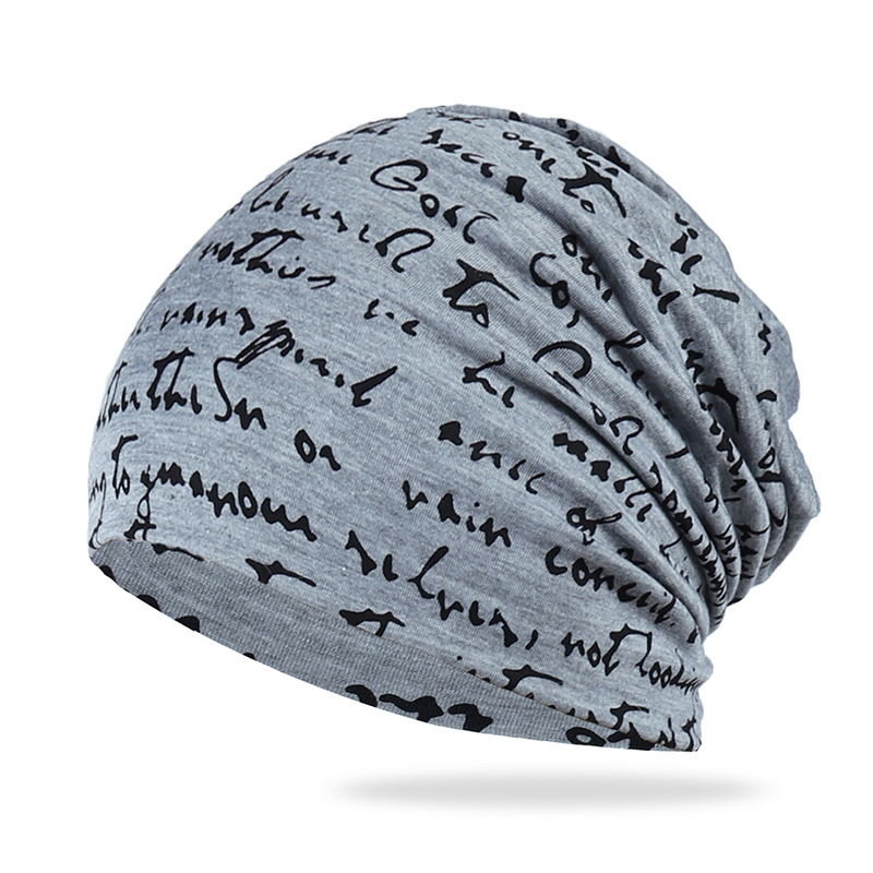 Spring Autumn Cotton Hat Thin Men's Outdoor Sports Windproof Hat Asual Fashion Hedging Cap Youth English Letters Bean Bean Hat