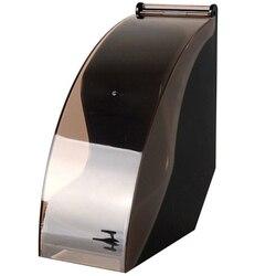 ABUI V60 bibuła filtracyjna uchwyt/stożkowa bibuła filtracyjna Box filtrowanie stojak do przechowywania papieru akcesoria do kawy pyłoszczelna z pokrywą w Filtry do kawy od Dom i ogród na