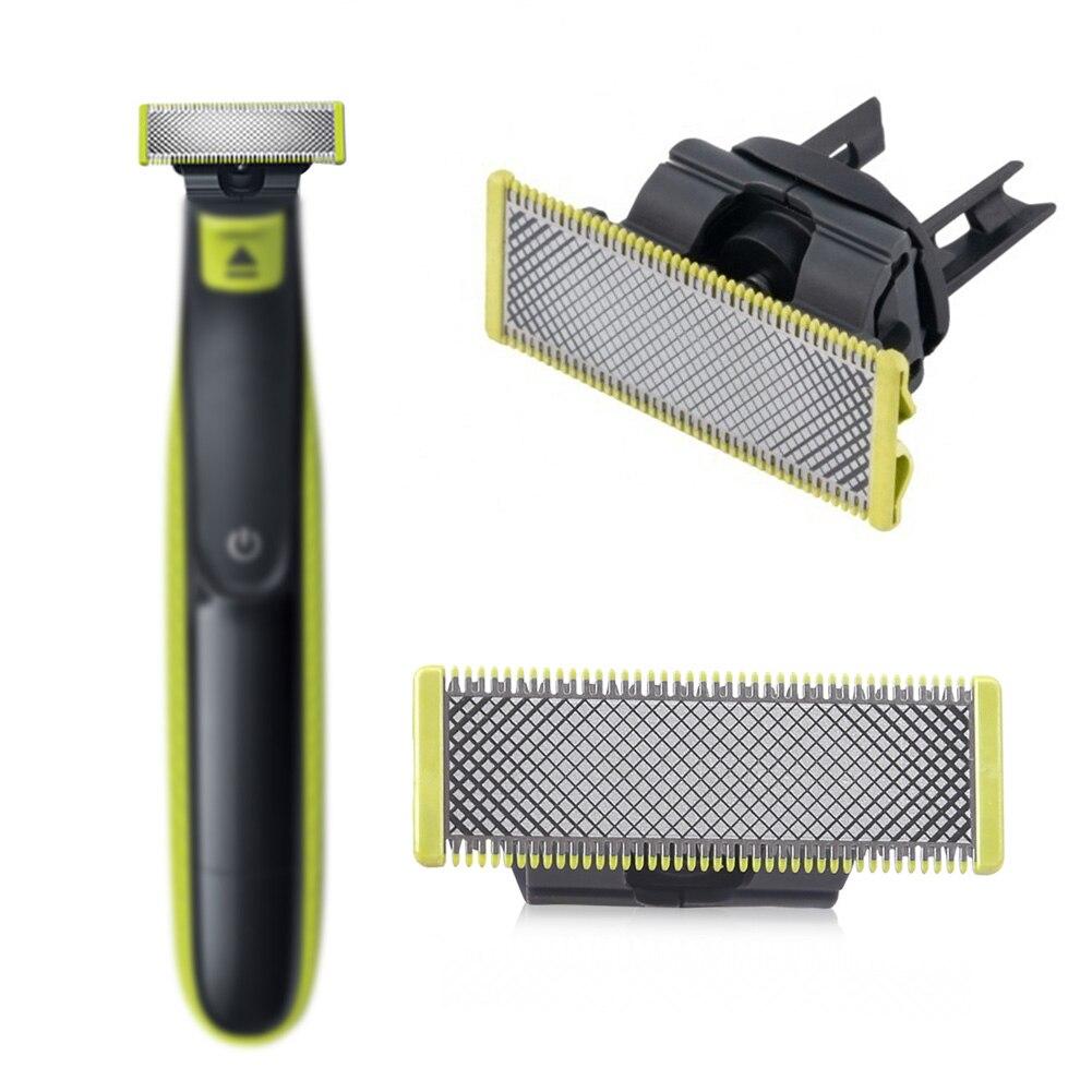 Сменные лезвия для Philips-OneBlade-Razor-Shaver QP210/50, сменные головки с одним лезвием, бытовые инструменты, 1 шт.
