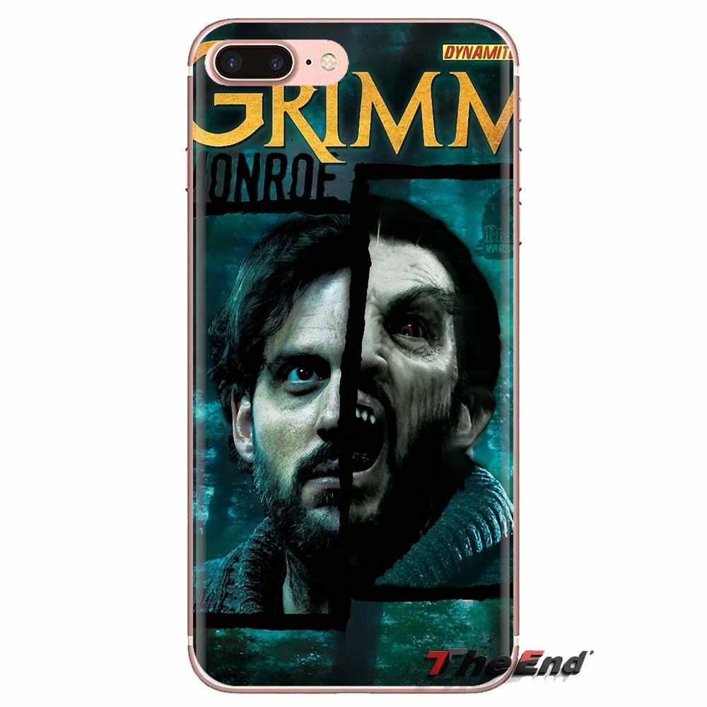 Grimm David Giuntoli untuk HUAWEI Mate Kehormatan 4C 5C 5X6X7 7A 7C 8 9 10 8C 8X20 Lite Pro Transparan Soft Shell Cover