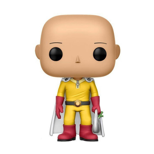 FUNKO POP ONE PUNCH-MAN Saitama #257 Action Figure Toys Anime Figure Models Dolls for Kids Birthday Gifts 3