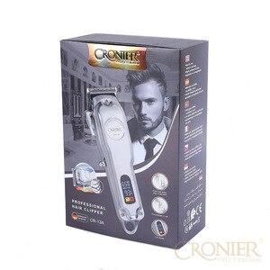 Image 5 - มืออาชีพไฟฟ้าผม Clipper จอแสดงผล LCD ชาร์จผม Trimmer สำหรับผู้ชาย Beard Barber ตัดผม