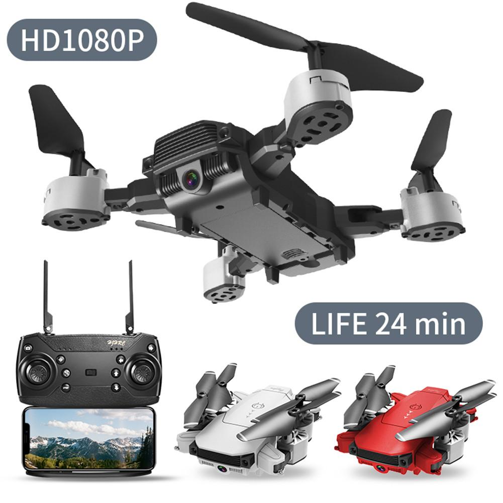 Drone 4k HD Wide Angle Camera 1080P WiFi Fpv Drone Dual Camera Quadcopter Height Keep Drone Camera image