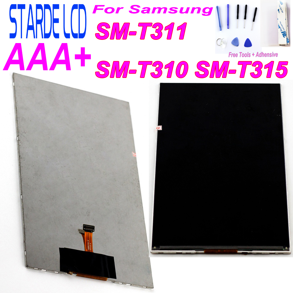 8 inch K800WL2 <font><b>LCD</b></font> Displays For Samsung T310 <font><b>T311</b></font> T315 <font><b>SM</b></font>-<font><b>T311</b></font> <font><b>SM</b></font>-T310 <font><b>SM</b></font>-T315 <font><b>LCD</b></font> Display Screen Repair Parts with Free Tools image