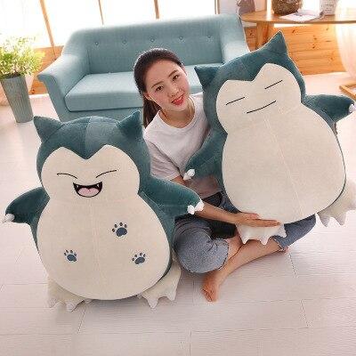Snorlax Big Plush Toy , Japan Anime 15/30cm Snorlax Pocket Monster Soft Stuffed Animal Toy For Kids Girl Christmas Birthday Gift