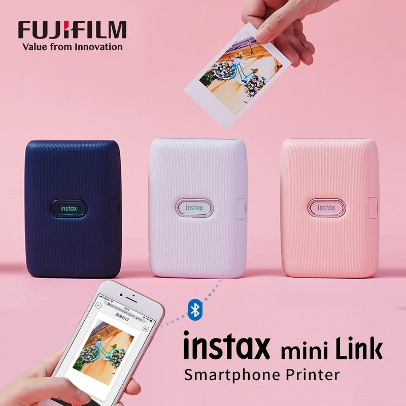 Новый принтер Fujifilm Instax Mini Link, цифровая печать с видео, контроль движения, печать вместе в забавном режиме