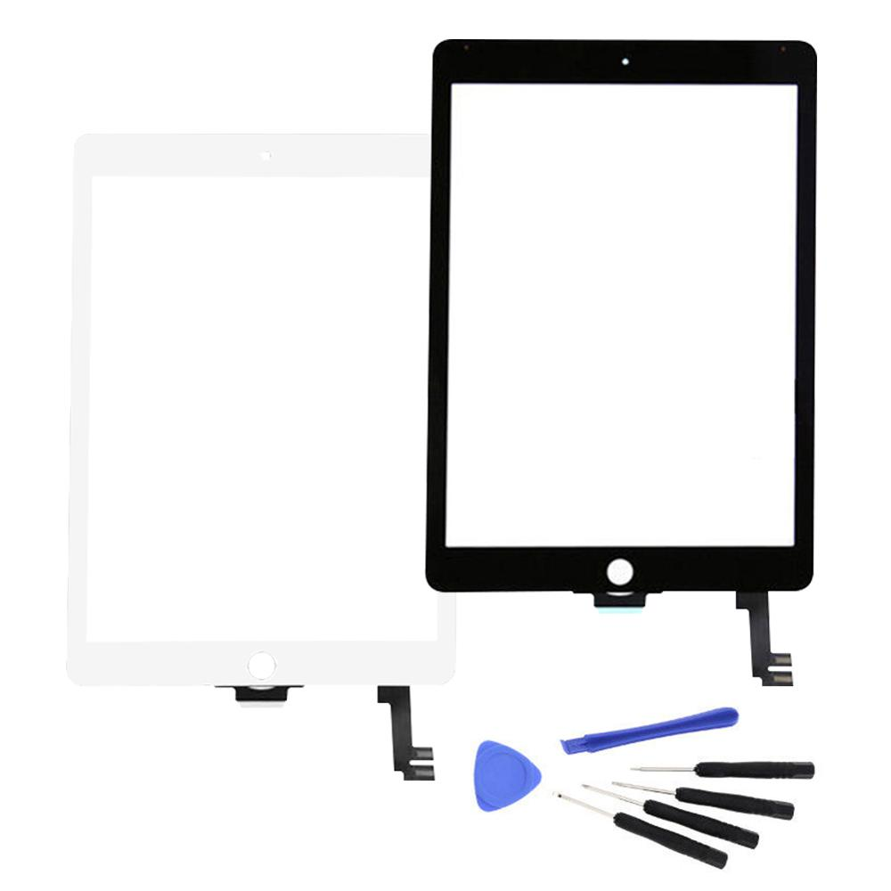 Replacement Touch Screen Digitizer Home Button Tools For IPad Air 2 A1566 A1567 Easy Replace Tablet Screen IPad Air 2 Lcd Screen