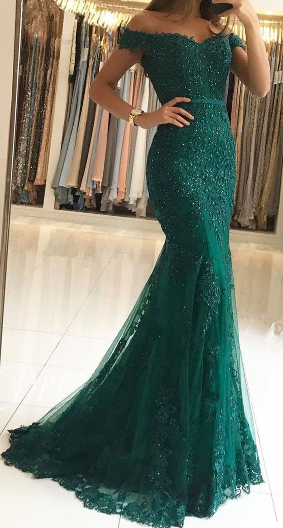 Lace Memaid Prom Dresses With Sash Green Women Party Dress Formal Evening Dress Vestidos De Gala
