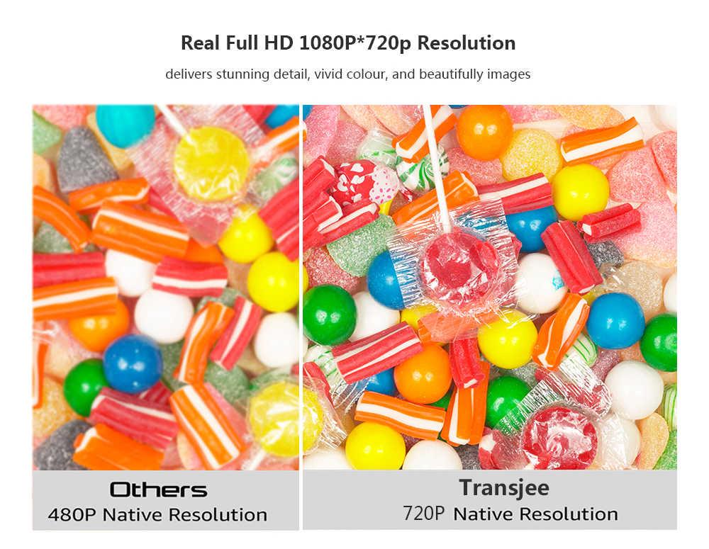 Soutien 4K HD 720P projecteur LED Android 6.01 Wifi Home cinéma intelligent A4300 200 pouces Proyector vidéo avec keyston numérique 3D